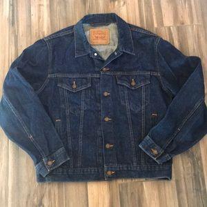 Vintage Trucker Levi's Denim Jacket L (42)